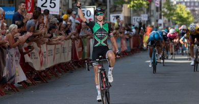 Lorena Wiebes wint de GP Sofie Goos