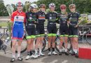 WV Breda Ladies Cycling Team rijd 38,754 km in 1 uur op Wielerbaan Geleen