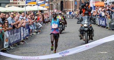 Peter Kiprotich wint de Ten Miles bij City Run Roermond