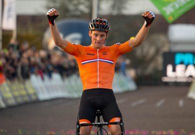 Mathieu van der Poel Prolongeert zijn Europese titel Cyclocross.