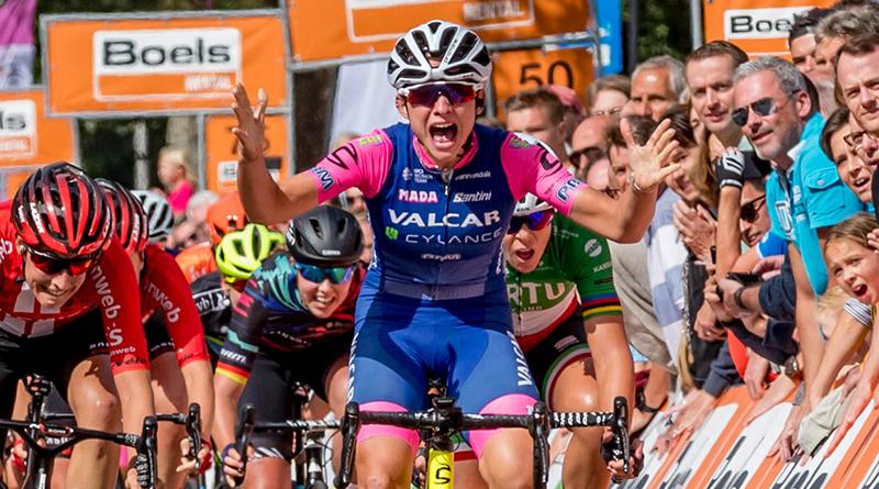 Christine Majerus pakt de eindzege in de Boels Ladies Tour. Dagzege voor Chiara Consonni