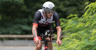 Youri Keulen zegeviert bij Ironman 70.3 in Maastricht
